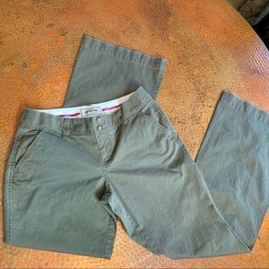 Old Navy Perfect Superflare Favorite Khakis pants